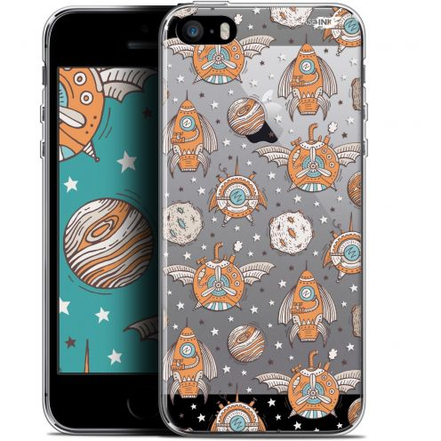 "Carcasa Gel Extra Fina Apple iPhone 5/5s/SE (4"") Design Punk Space"
