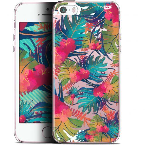 """Carcasa Gel Extra Fina Apple iPhone 5/5s/SE (4"""") Design Couleurs des Tropiques"""