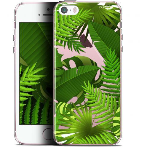 "Carcasa Gel Extra Fina Apple iPhone 5/5s/SE (4"") Design Plantes des Tropiques"