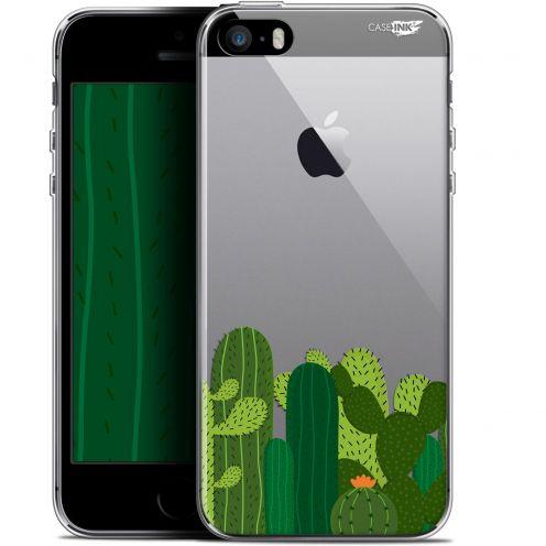 """Carcasa Gel Extra Fina Apple iPhone 5/5s/SE (4"""") Design Cactus"""