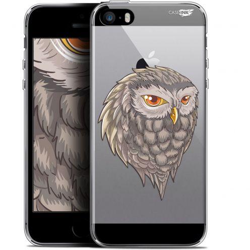 "Carcasa Gel Extra Fina Apple iPhone 5/5s/SE (4"") Design Hibou Draw"