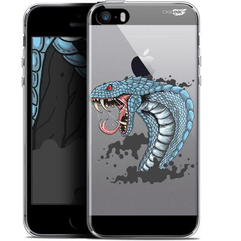 "Carcasa Gel Extra Fina Apple iPhone 5/5s/SE (4"") Design Cobra Draw"