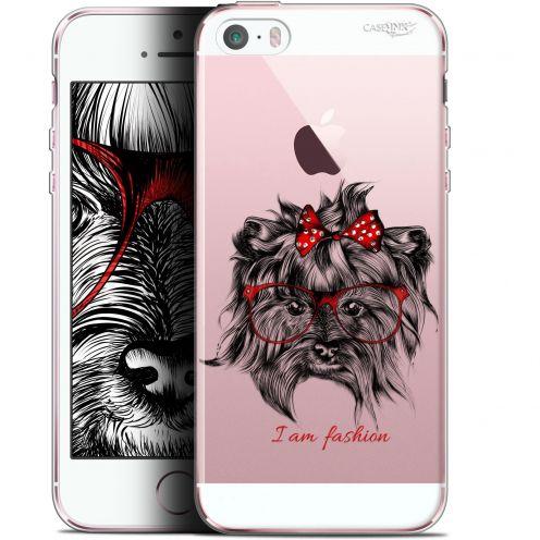 "Carcasa Gel Extra Fina Apple iPhone 5/5s/SE (4"") Design Fashion Dog"
