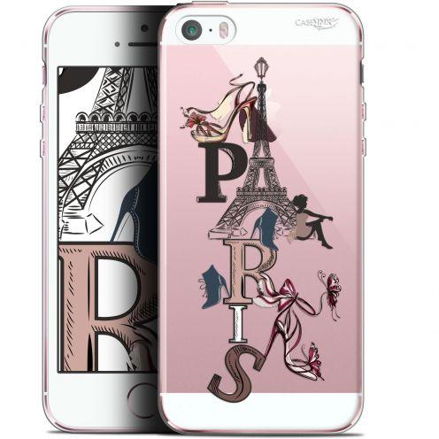 "Carcasa Gel Extra Fina Apple iPhone 5/5s/SE (4"") Design Stylish Paris"