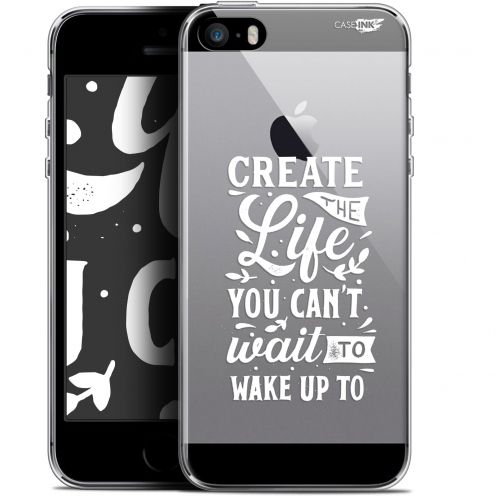 "Carcasa Gel Extra Fina Apple iPhone 5/5s/SE (4"") Design Wake Up Your Life"