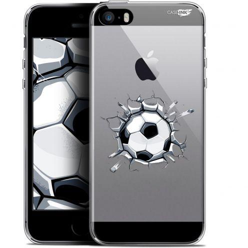 """Carcasa Gel Extra Fina Apple iPhone 5/5s/SE (4"""") Design Le Balon de Foot"""