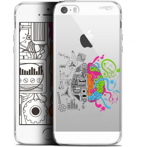 """Carcasa Gel Extra Fina Apple iPhone 5/5s/SE (4"""") Design Le Cerveau"""