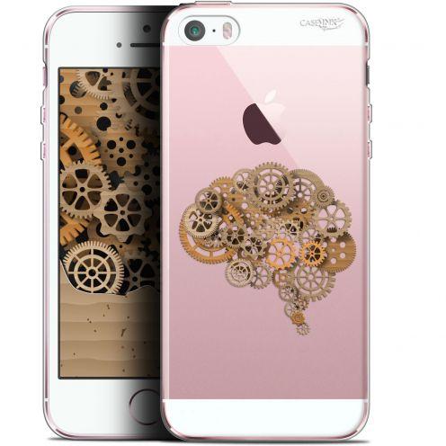 """Carcasa Gel Extra Fina Apple iPhone 5/5s/SE (4"""") Design Mécanismes du Cerveau"""