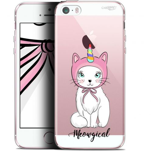 "Carcasa Gel Extra Fina Apple iPhone 5/5s/SE (4"") Design Ce Chat Est MEOUgical"