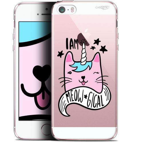 "Carcasa Gel Extra Fina Apple iPhone 5/5s/SE (4"") Design I Am MEOUgical"