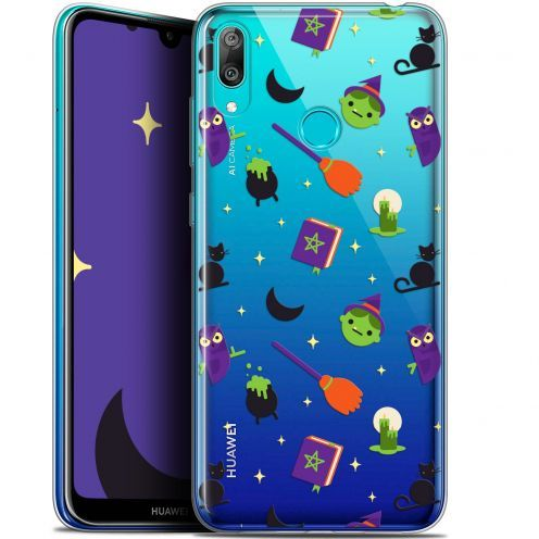 """Carcasa Gel Extra Fina Huawei Y7 / Prime / Pro 2019 (6.26"""") Halloween Witch Potter"""