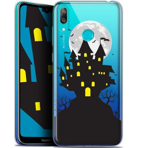 "Carcasa Gel Extra Fina Huawei Y7 / Prime / Pro 2019 (6.26"") Halloween Castle Scream"