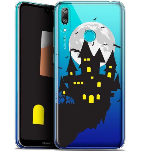 "Carcasa Gel Extra Fina Huawei Y7 / Prime / Pro 2019 (6.26"") Halloween Castle Dream"