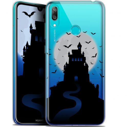 "Carcasa Gel Extra Fina Huawei Y7 / Prime / Pro 2019 (6.26"") Halloween Castle Nightmare"