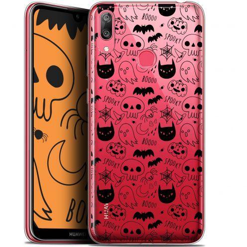 "Carcasa Gel Extra Fina Huawei Y7 / Prime / Pro 2019 (6.26"") Halloween Spooky"