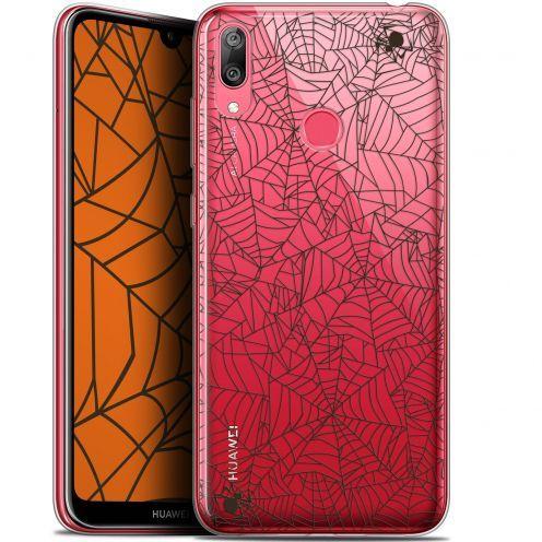 "Carcasa Gel Extra Fina Huawei Y7 / Prime / Pro 2019 (6.26"") Halloween Spooky Spider"