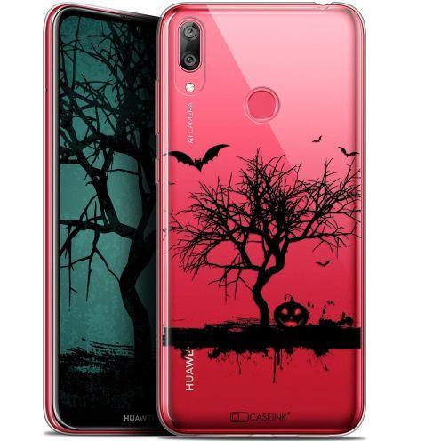 "Carcasa Gel Extra Fina Huawei Y7 / Prime / Pro 2019 (6.26"") Halloween Devil's Tree"