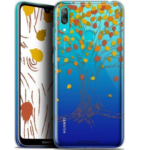 "Carcasa Gel Extra Fina Huawei Y7 / Prime / Pro 2019 (6.26"") Autumn 16 Tree"