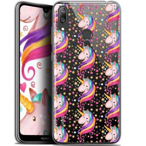 """Carcasa Gel Extra Fina Huawei Y7 / Prime / Pro 2019 (6.26"""") Fantasia Licorne Etoilée"""