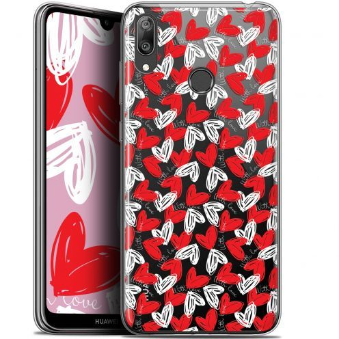 """Carcasa Gel Extra Fina Huawei Y7 / Prime / Pro 2019 (6.26"""") Love With Love"""