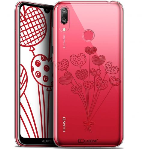 """Carcasa Gel Extra Fina Huawei Y7 / Prime / Pro 2019 (6.26"""") Love Ballons d'amour"""