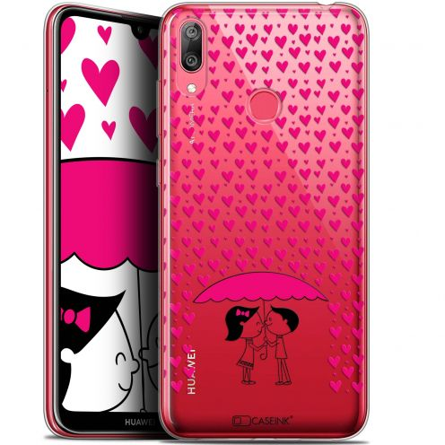 "Carcasa Gel Extra Fina Huawei Y7 / Prime / Pro 2019 (6.26"") Love Pluie d'Amour"