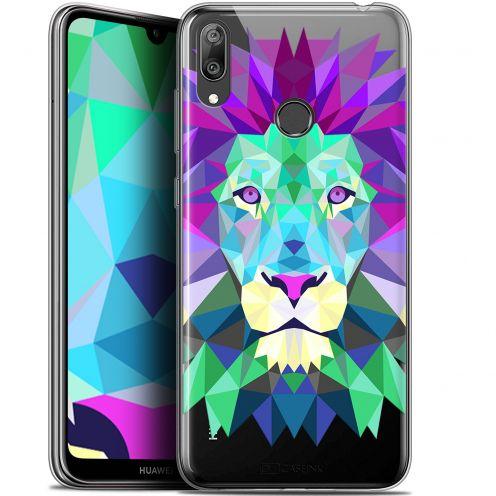 """Carcasa Gel Extra Fina Huawei Y7 / Prime / Pro 2019 (6.26"""") Polygon Animals León"""