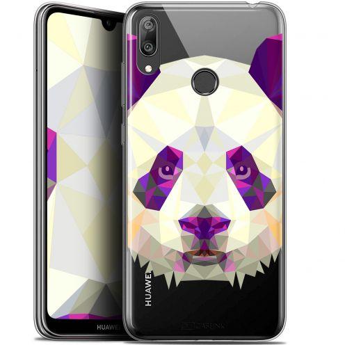 "Carcasa Gel Extra Fina Huawei Y7 / Prime / Pro 2019 (6.26"") Polygon Animals Panda"