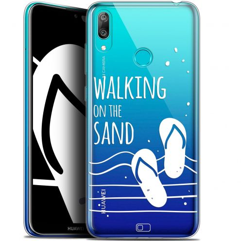 """Carcasa Gel Extra Fina Huawei Y7 / Prime / Pro 2019 (6.26"""") Summer Walking on the Sand"""