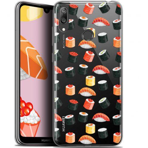 "Carcasa Gel Extra Fina Huawei Y7 / Prime / Pro 2019 (6.26"") Foodie Sushi"