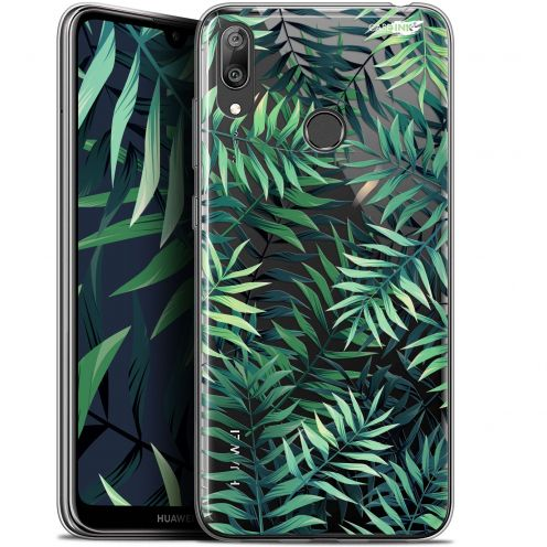 "Carcasa Gel Extra Fina Huawei Y7 / Prime / Pro 2019 (6.26"") Design Feuilles des Tropiques"