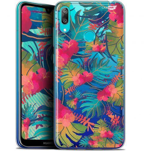 """Carcasa Gel Extra Fina Huawei Y7 / Prime / Pro 2019 (6.26"""") Design Couleurs des Tropiques"""
