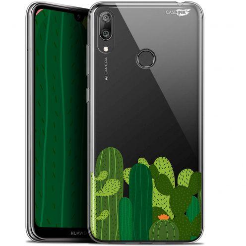 "Carcasa Gel Extra Fina Huawei Y7 / Prime / Pro 2019 (6.26"") Design Cactus"