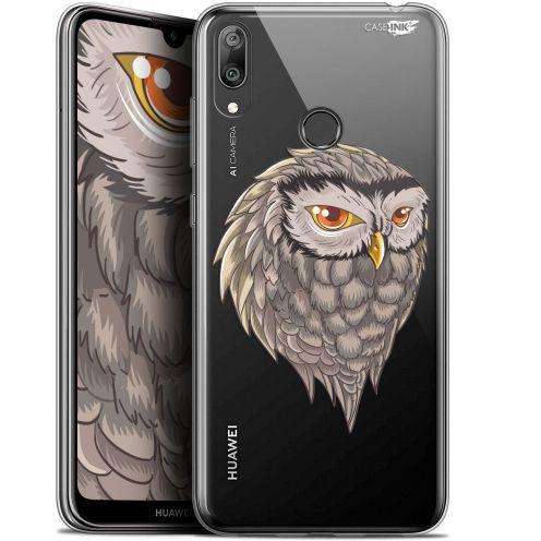 "Carcasa Gel Extra Fina Huawei Y7 / Prime / Pro 2019 (6.26"") Design Hibou Draw"