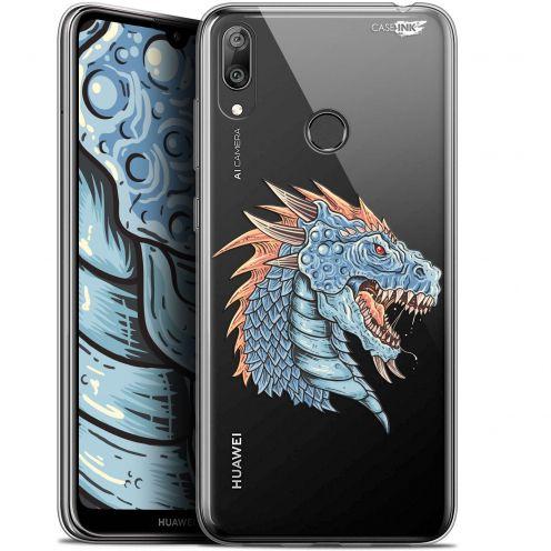 """Carcasa Gel Extra Fina Huawei Y7 / Prime / Pro 2019 (6.26"""") Design Dragon Draw"""