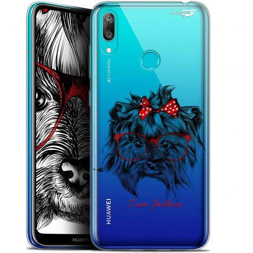 """Carcasa Gel Extra Fina Huawei Y7 / Prime / Pro 2019 (6.26"""") Design Fashion Dog"""