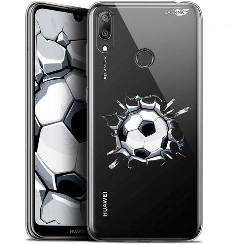 "Carcasa Gel Extra Fina Huawei Y7 / Prime / Pro 2019 (6.26"") Design Le Balon de Foot"