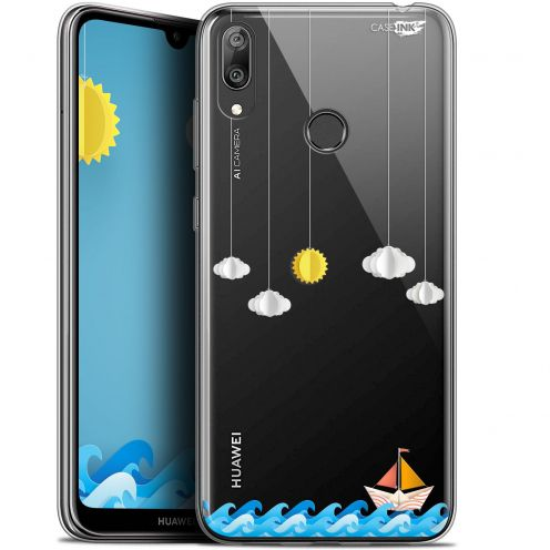 "Carcasa Gel Extra Fina Huawei Y7 / Prime / Pro 2019 (6.26"") Design Petit Bateau en Mer"