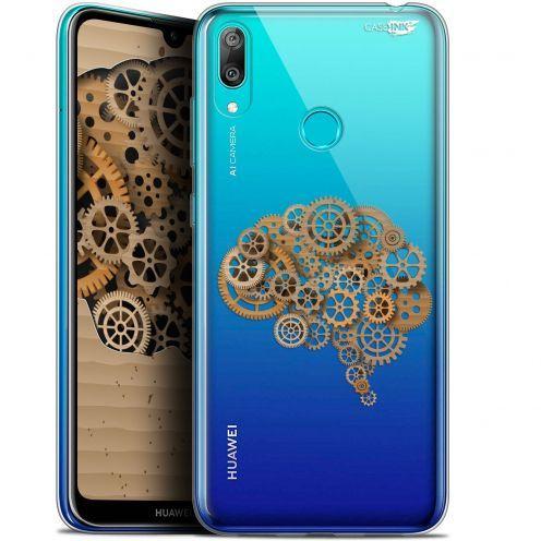 "Carcasa Gel Extra Fina Huawei Y7 / Prime / Pro 2019 (6.26"") Design Mécanismes du Cerveau"