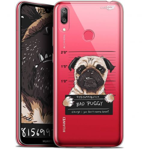 "Carcasa Gel Extra Fina Huawei Y7 / Prime / Pro 2019 (6.26"") Design Beware The Puggy Dog"