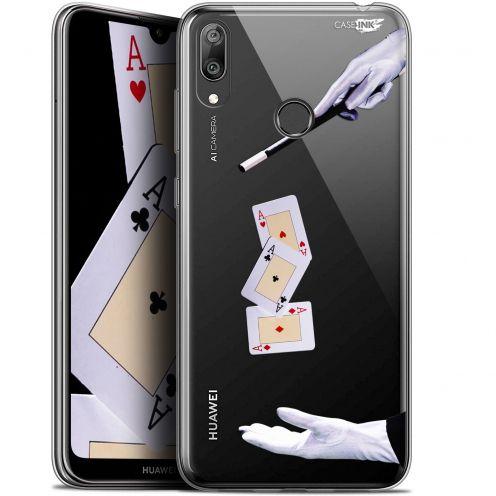 "Carcasa Gel Extra Fina Huawei Y7 / Prime / Pro 2019 (6.26"") Design Cartes Magiques"