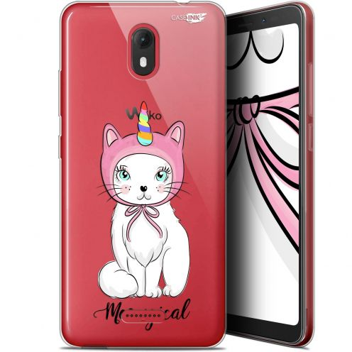 "Carcasa Gel Extra Fina Wiko View GO (5.7"") Design Ce Chat Est MEOUgical"