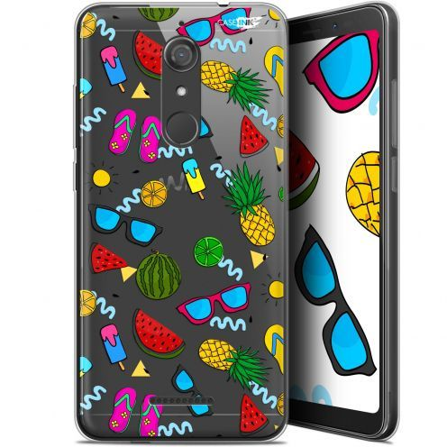 "Carcasa Gel Extra Fina Wiko View (5.7"") Design Summers"