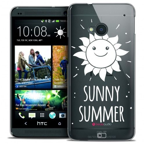 Carcasa Crystal Extra Fina HTC One (M7) Summer Sunny Summer