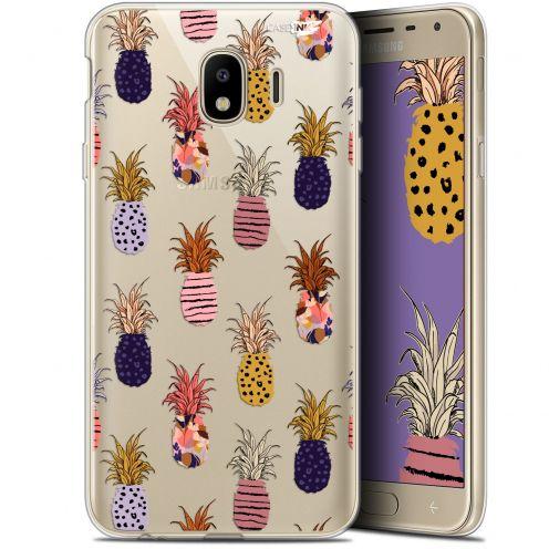 "Carcasa Gel Extra Fina Samsung Galaxy J4 2018 J400 (5.7"") Design Ananas Gold"