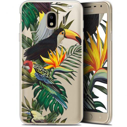 "Carcasa Gel Extra Fina Samsung Galaxy J4 2018 J400 (5.7"") Design Toucan Tropical"