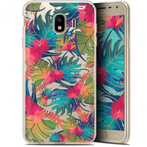 "Carcasa Gel Extra Fina Samsung Galaxy J4 2018 J400 (5.7"") Design Couleurs des Tropiques"