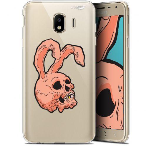 """Carcasa Gel Extra Fina Samsung Galaxy J4 2018 J400 (5.7"""") Design Rabbit Skull"""