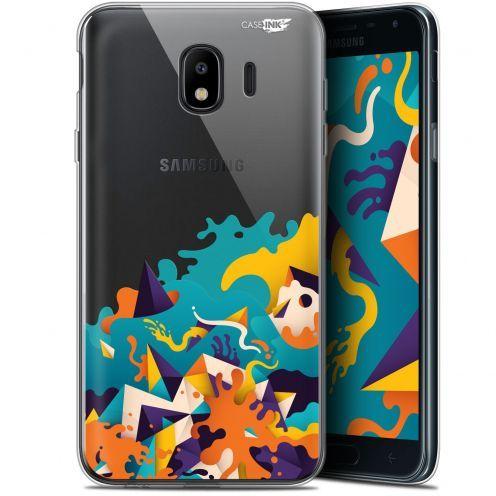 "Carcasa Gel Extra Fina Samsung Galaxy J4 2018 J400 (5.7"") Design Les Vagues"