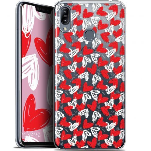 """Carcasa Gel Extra Fina Asus Zenfone Max (M2) ZB633KL (6.3"""") Love With Love"""